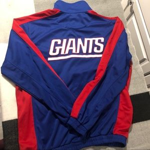 NY Giants Track Jacket